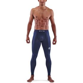 Skins Series-1 Long Tights Men, azul
